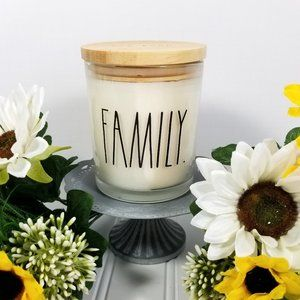 Rae Dunn ~ FAMILY ~ Candle ~ NEW